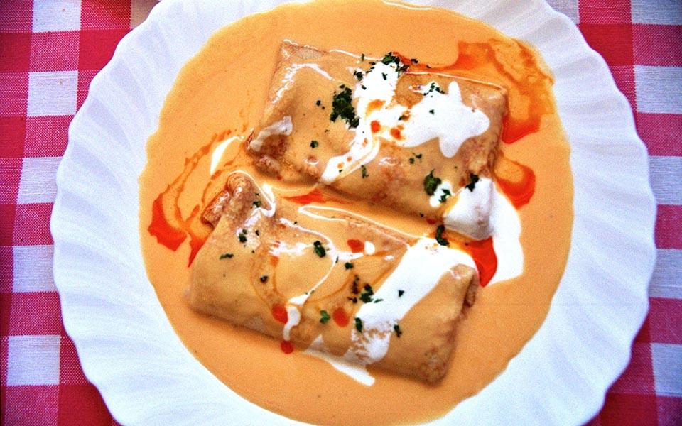 crepes de hortobagy cuisine hongroise