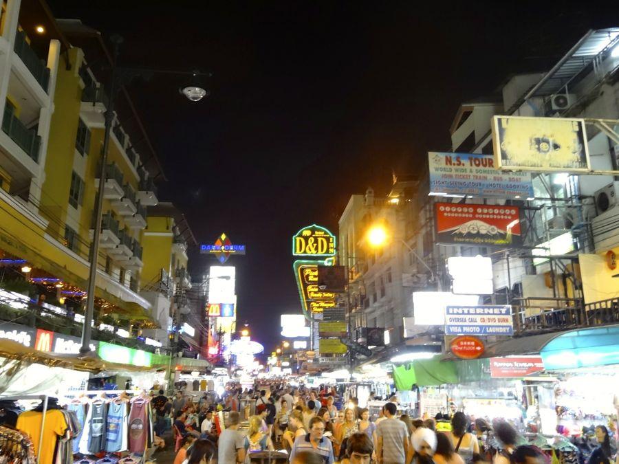 khao san road bangkok thailande