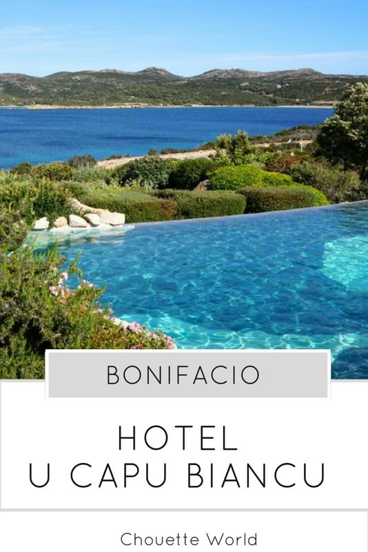 U Capu Biancu, Bonifacio, Corse : un hôtel de luxe entre mer et maquis
