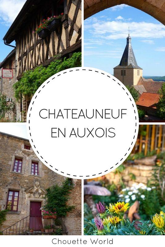 Chateauneuf en Auxois : plus beau village de France