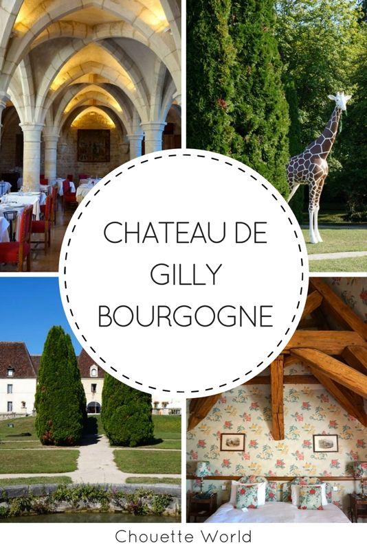 Chateau de Gilly, Côte d'Or, Bourgogne