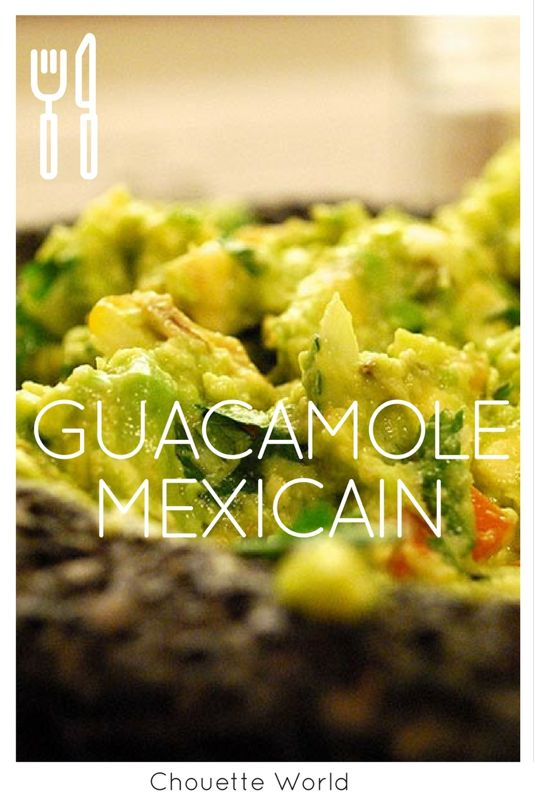 Recette guacamole mexicain : simple, rapide et délicieux !
