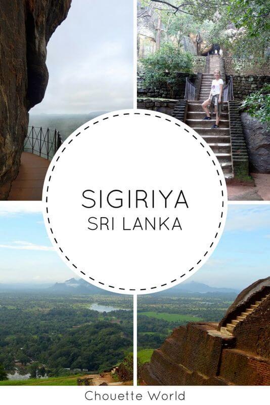 Rocher de Sigiriya, Sri Lanka