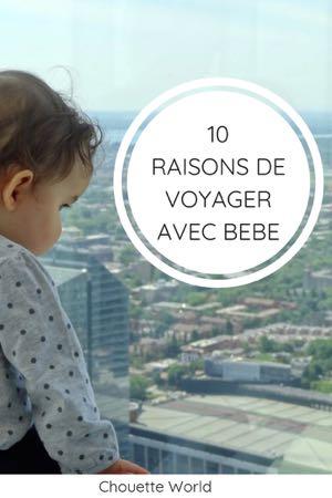 10 raisons de voyager avec bébé