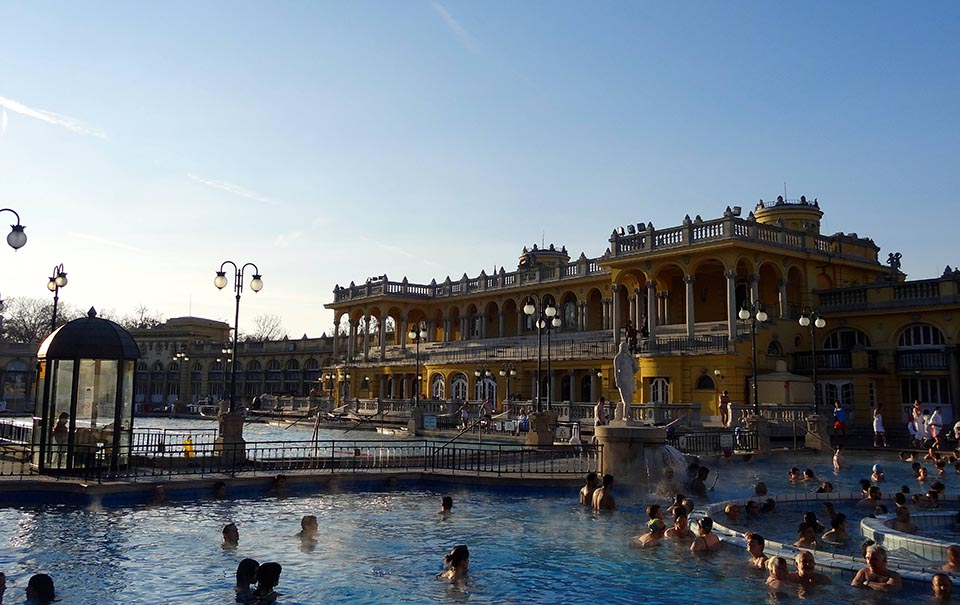 Weekend à Budapest bains