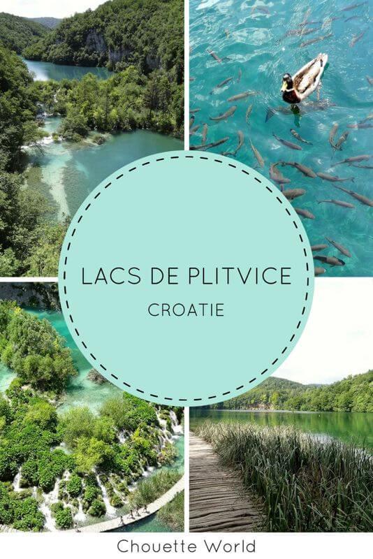 Visiter les lacs de Plitvice : conseils et astuces