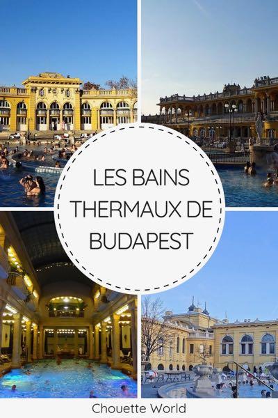 bains et thermes à Budapest
