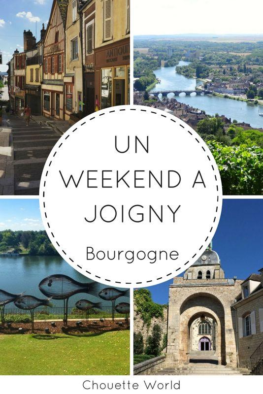 Un weekend à Joigny : idées de visites et bonnes adresses