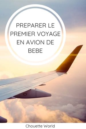 Préparer son voyage en avion avec bébé