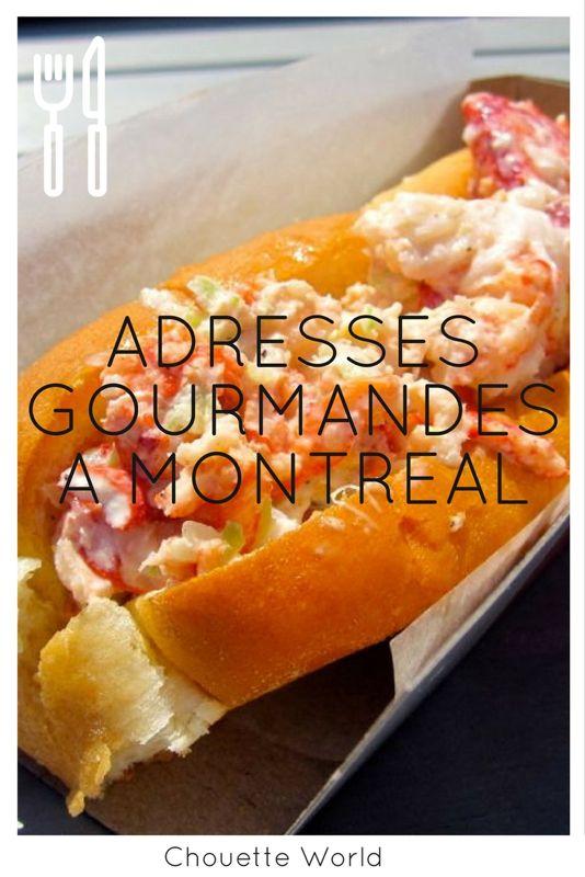 Bonnes adresses à Montréal