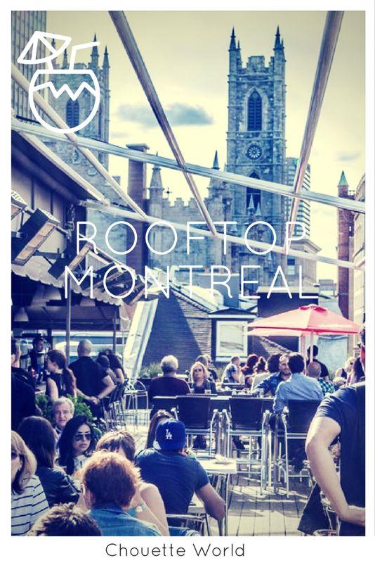 3 rooftop à essayer dans le Vieux Montréal