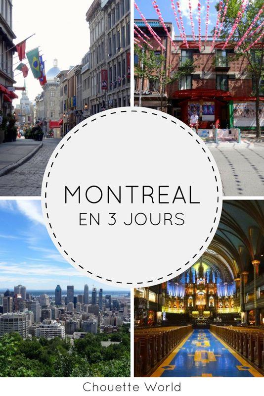 Visiter Montréal en 3 jours : mes immanquables