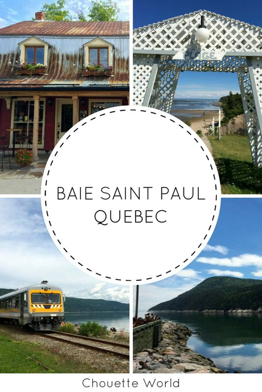 Que faire a Baie Saint Paul ?