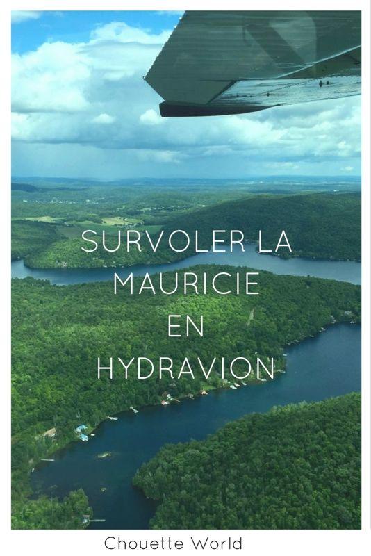 Survoler la Mauricie en hydravion : expérience et conseils