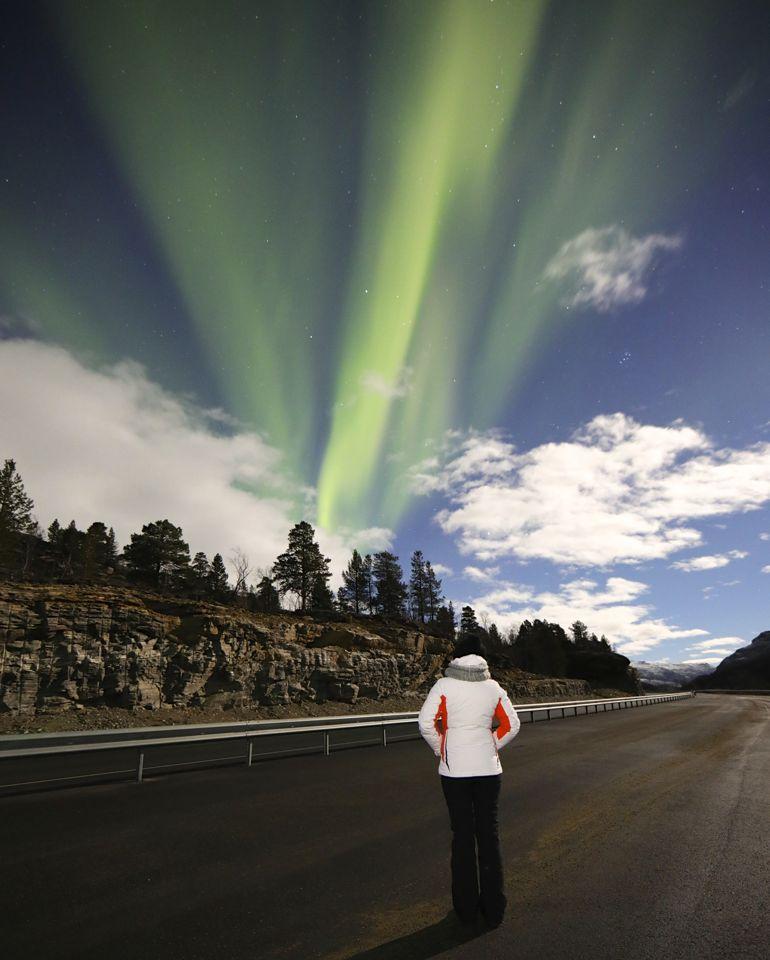 visiter tromso aurores boreales