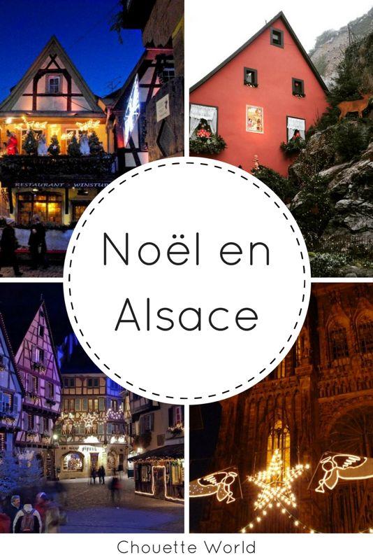 5 marchés de Noel en Alsace