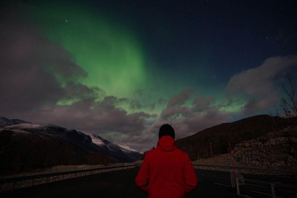 voir les aurores boréales en Norvège