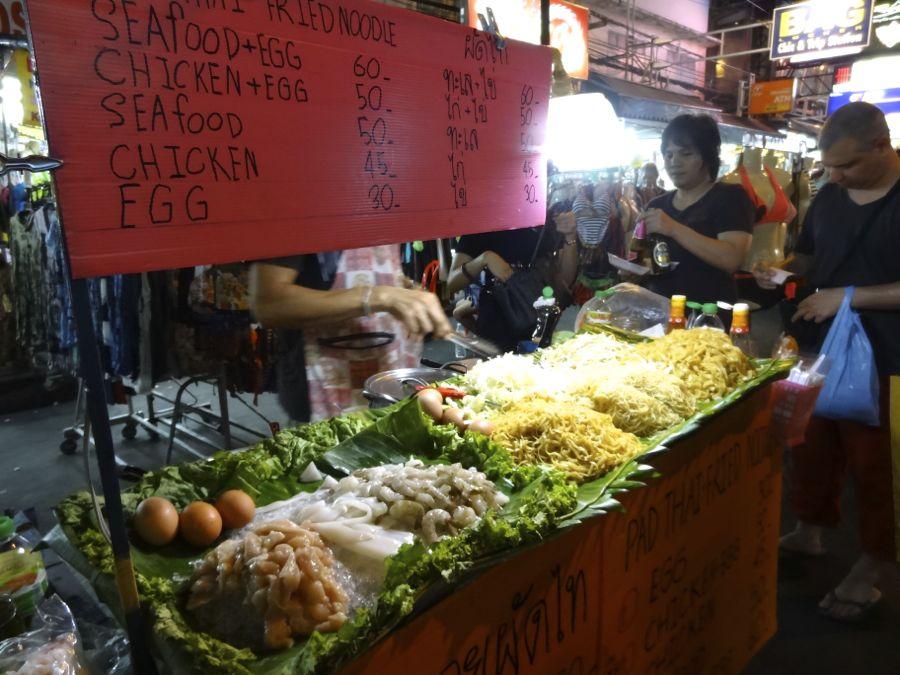 cuisine de rue thailande