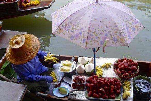 marche flottant thailande