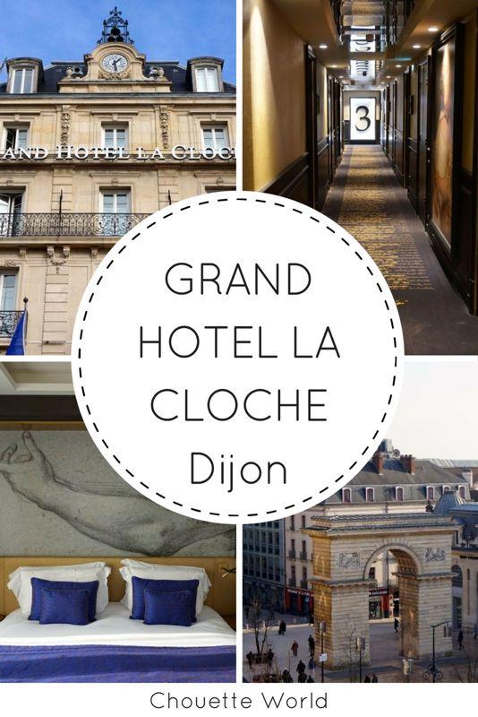 Hotel de luxe à Dijon : Grand Hotel la Cloche. Hotel 5* au coeur du centre ville de Dijon.