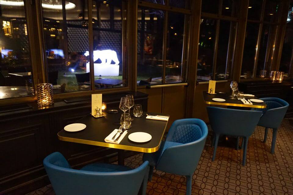 restaurant grand hotel la cloche