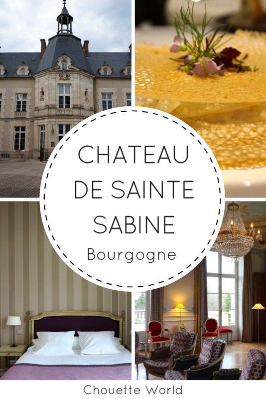 Chateau de Sainte Sabine, hotel de charme, Cote d'Or, Bourgogne