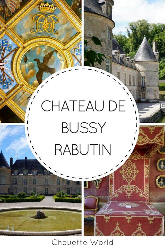 Chateau de Bussy Rabutin, Cote d'Or, Bourgogne
