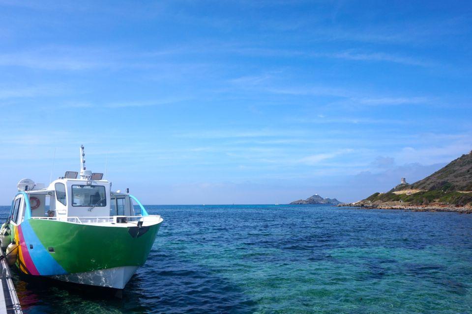 Visiter les iles sanguinaires en Corse