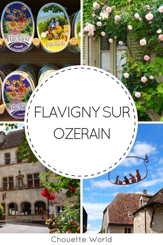 Visiter Flavigny sur Ozerain, un des plus beaux villages de France, Cote d'Or, Bourgogne