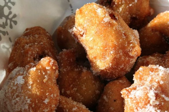 Recette des beignets au Brocciu