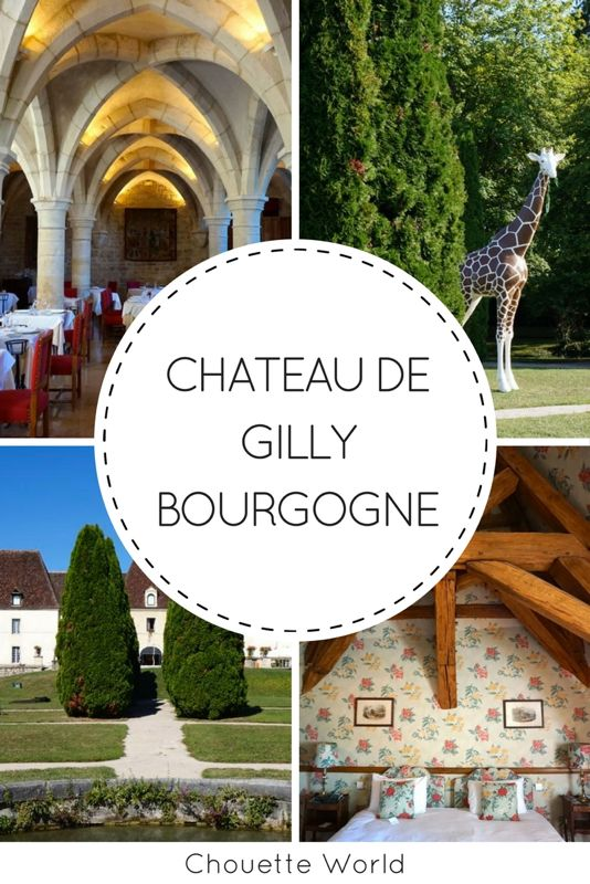 Chateau de Gilly, Côte d'Or, Bourgogne