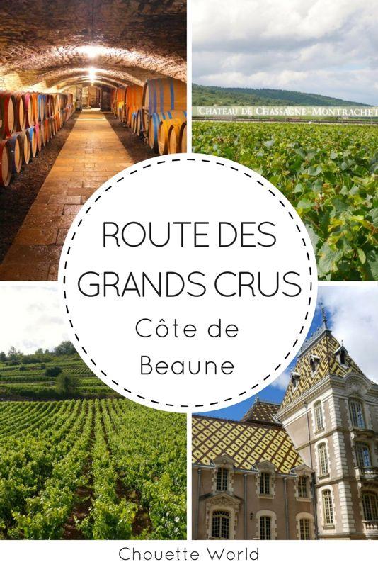 Route des Grands Crus de Bourgogne : Côte de Beaune