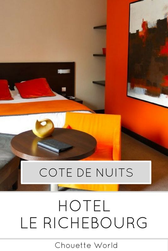 Le Richebourg : un hotel de luxe sur la route des Grands Crus de Bourgogne