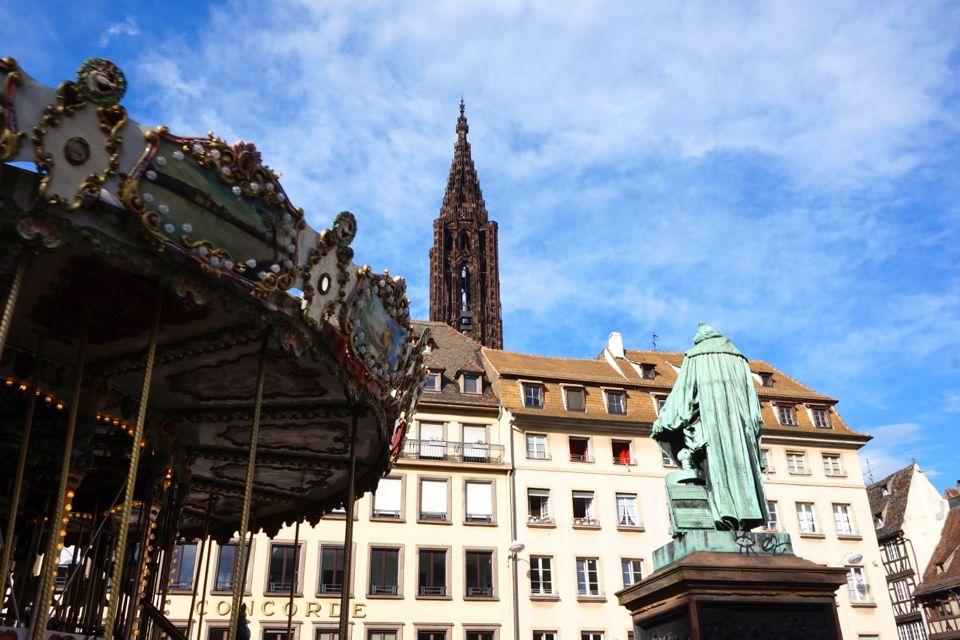 visiter strasbourg place gutenberg