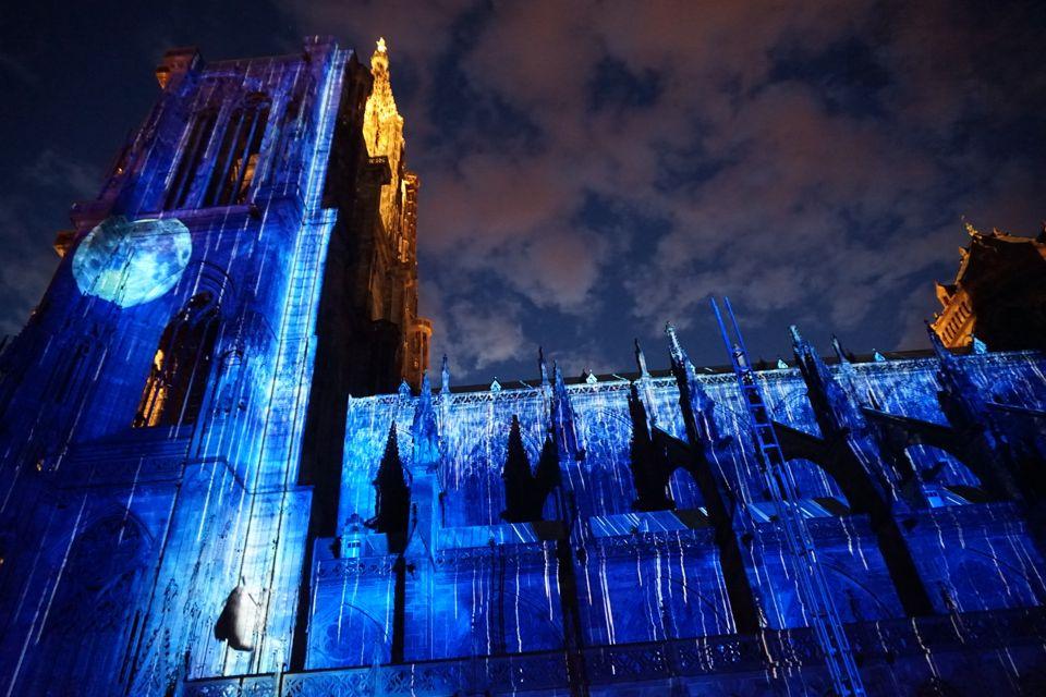 Son et lumière cathédrale strasbourg