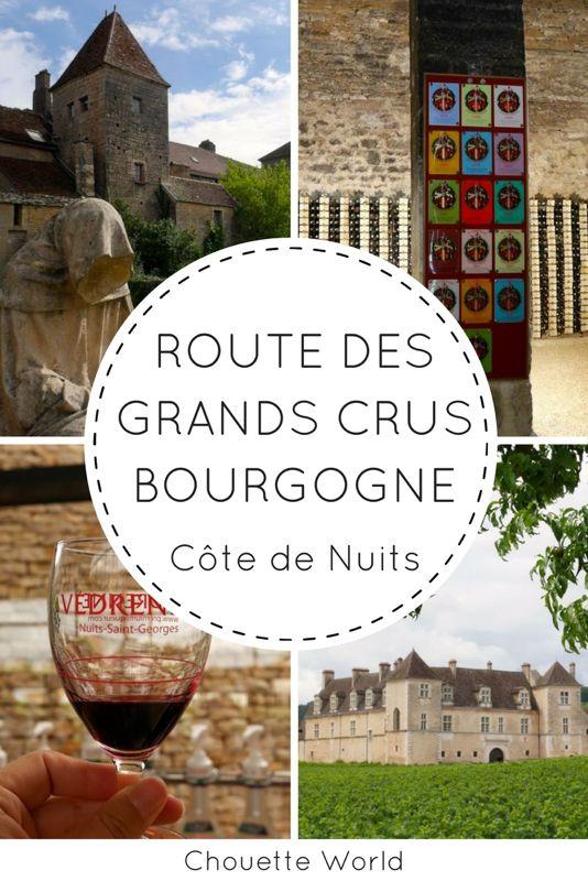 Route des Grands Crus : la Côte de Nuits