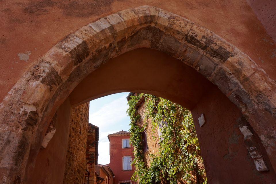 Sentier des ocres à Roussillon