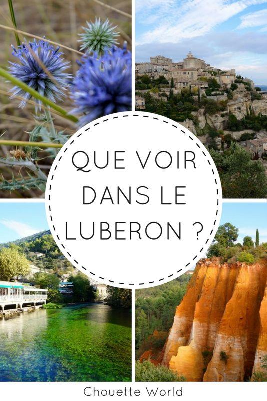 Que voir dans le Luberon ?