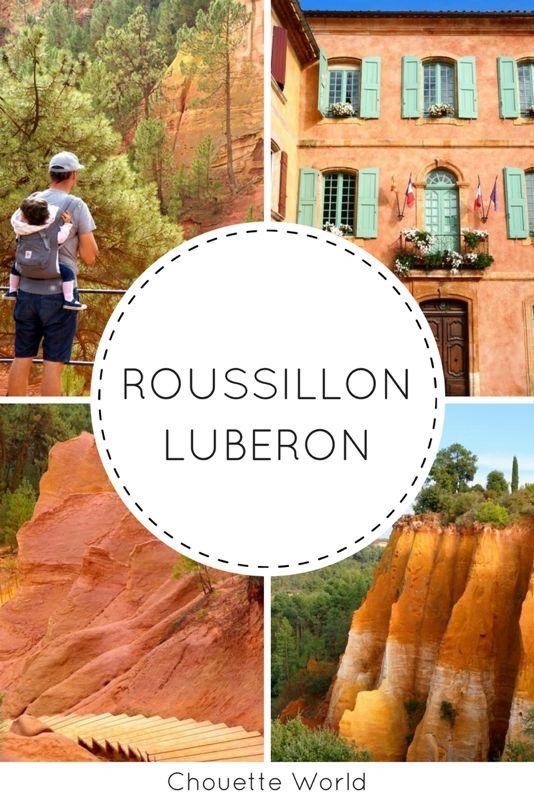 Roussillon et le sentier des ocres