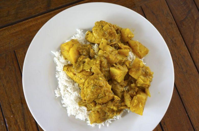 Cuisine créole : colombo de poulet