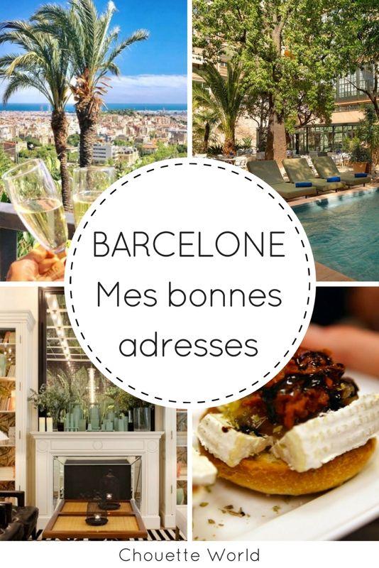 Bonnes adresses à Barcelone