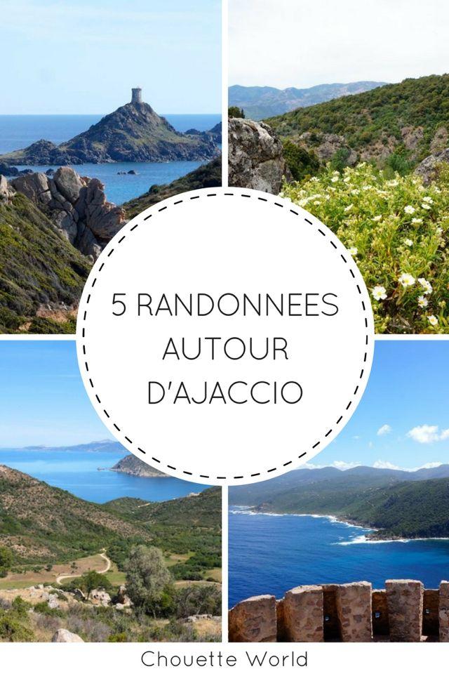 5 randonnées autour d'Ajaccio