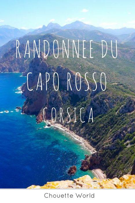 Randonnée du Capo Rosso Corse