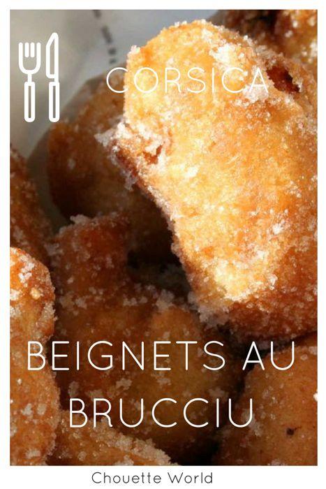 Recette corse : beignets au brucciu