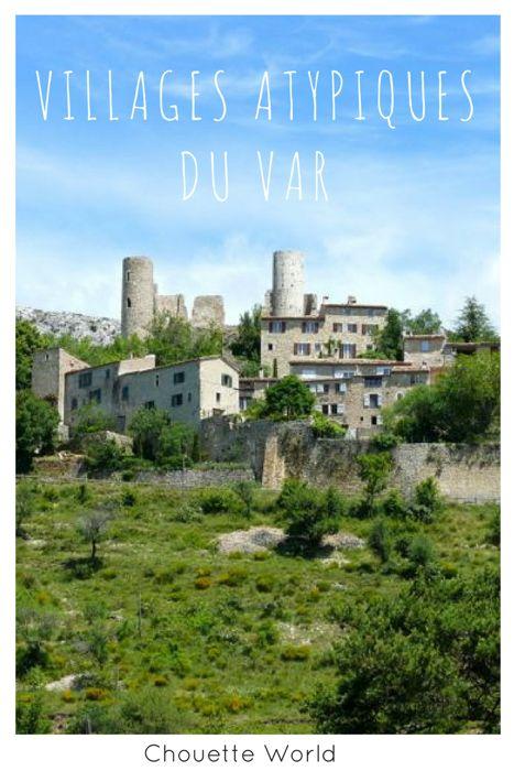 Villages atypiques du Var