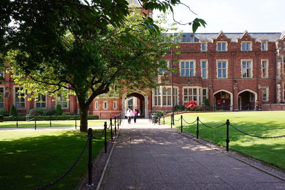 3 jours à Belfast : university