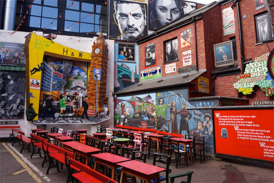 3 jours à Belfast : street art