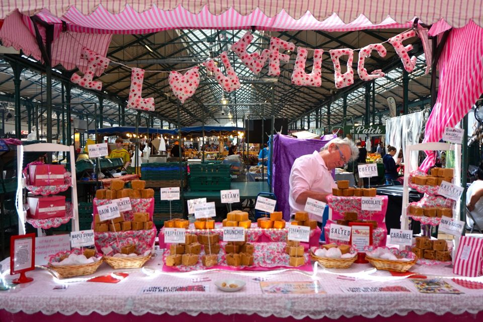 3 jours à Belfast : St Georges Market