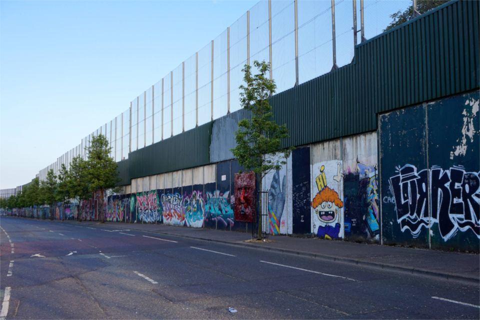 3 jours à Belfast : peace wall