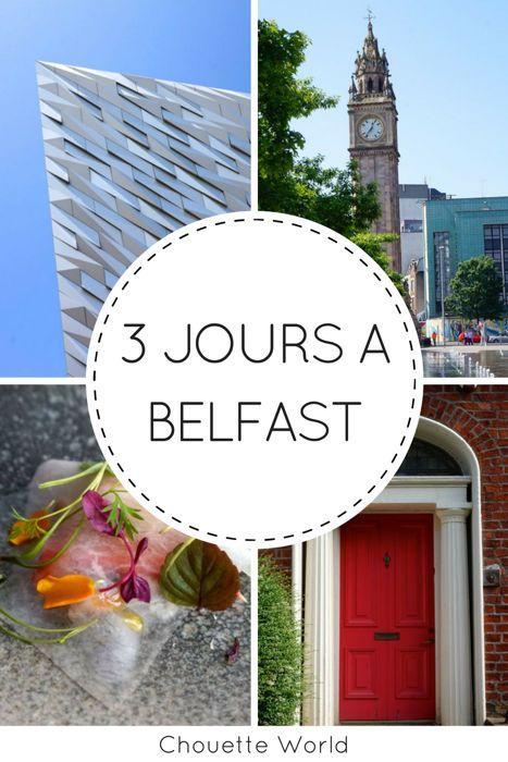 3 jours à Belfast